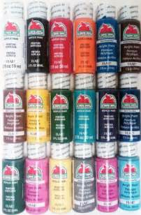 apple barrel paint colors plaid apple barrel acrylic paint 171 knows best