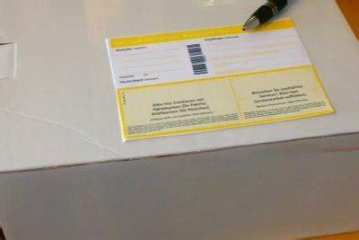 Packstation Adressaufkleber Drucken by Paquete Remitente Y El Destinatario Correctamente Notas
