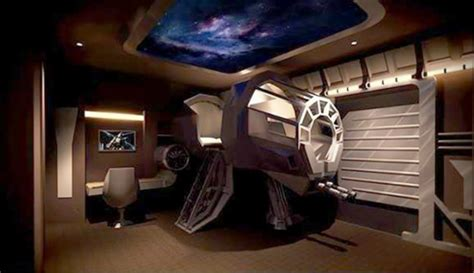 millennium falcon bed dad of the year builds amazing millennium falcon bed bit rebels