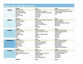 Diabetic Meal Planner Template Search Results For Diabetic Menu Planner Template