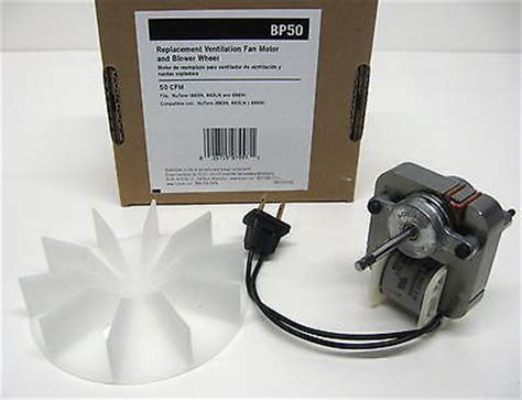 Nautilus Bathroom Fan Motor Replacement Bp50 Broan Nutone Vent Bath Fan Motor For Model 663n 663ln