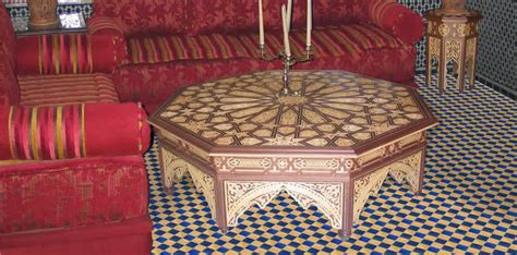 Moroccan Dining Table Moroccan Wood Dining Tables