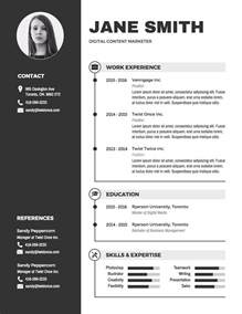 infographic resume template free infographic resume template venngage