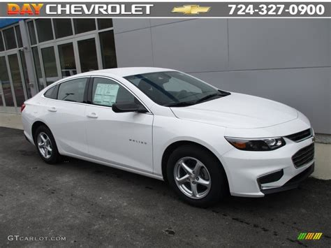 White And Black Ls by 2016 Summit White Chevrolet Malibu Ls 110220717