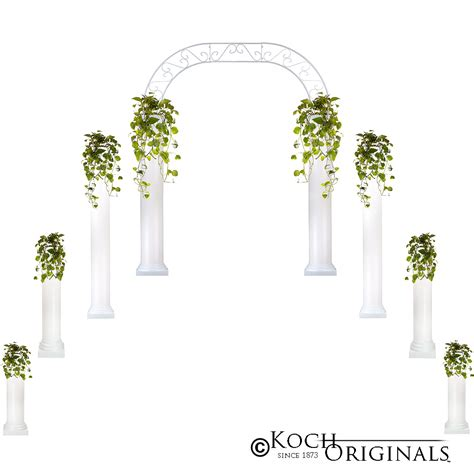 Wedding Arch And Columns by Wedding Column Packages Candelabras By Koch Originals