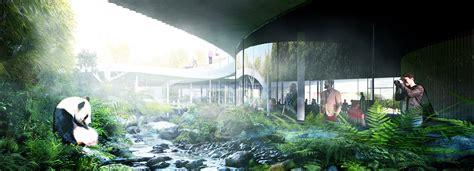zoo designboom big plans yin and yang panda house for copenhagen zoo
