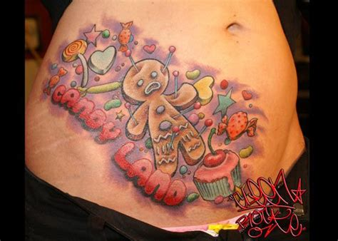candyland tattoo cleen rock one chrome las vegas