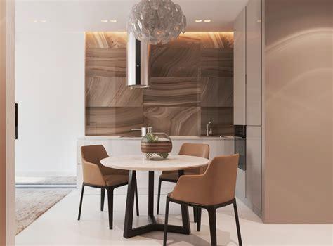Warm Dining Room by Warm Modern Interior Design