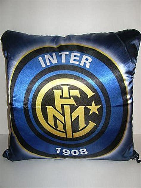 cuscino inter cuscini inter logo venturini souvenirs vetro di murano
