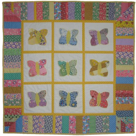 printable baby quilt patterns butterfly baby quilt pattern