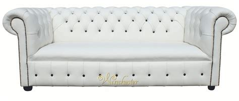 chesterfield white leather sofa chesterfield fixed seat leather sofa offer white leather