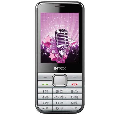 mobile intex intex u aa dual sim mobile phone silver best price in