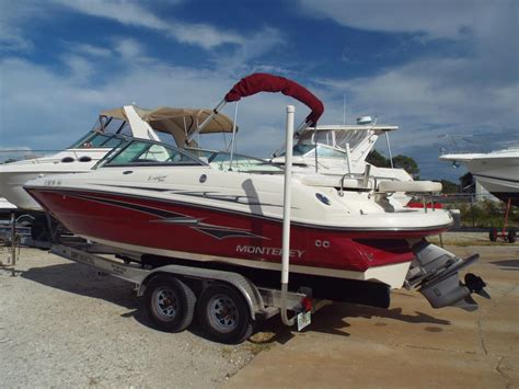 monterey explorer boats for sale monterey 220 explorer boats for sale in florida