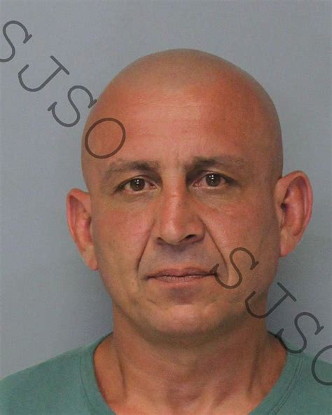 Johns County Arrest Records Urmas P Debakker Inmate Sjso17jbn001814 St Johns County