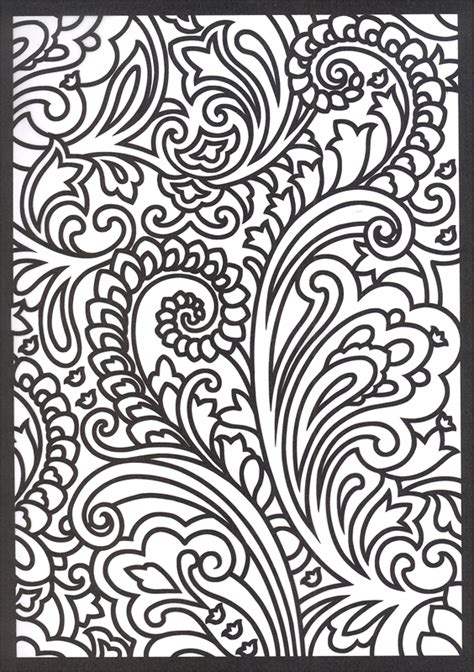 paisley designs coloring pages paisley designs stained glass coloring book creative