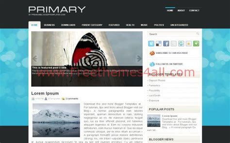 themes blogger black blue black abstract blogger theme download