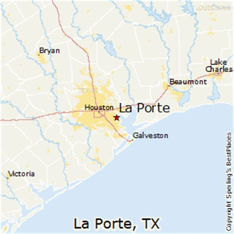 la porte texas map best places to live in la porte texas
