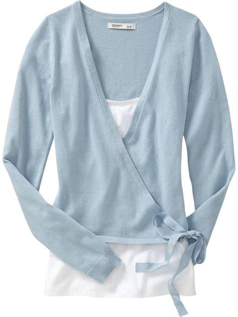 Cartexblanche Jumper Lightblue Limited light blue wrap sweater coat nj