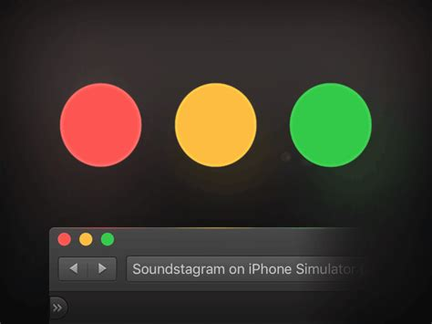 traffic light el capitan ui traffic light buttons psd by matt kelsh