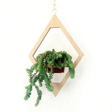 Modern Hanging Planter Boho Chic Decor Mid Century By Modern Hanging Planters