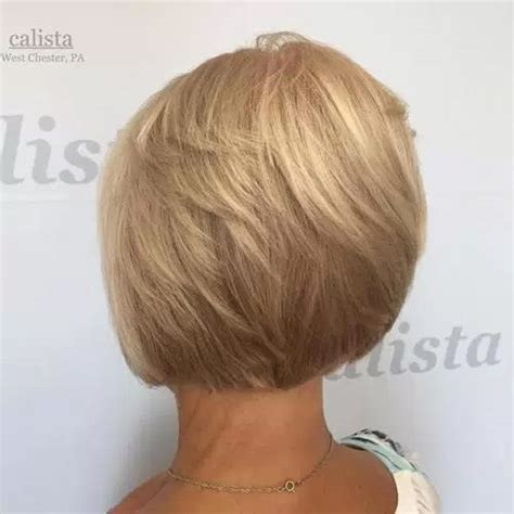 short stacked bobs for 50 year old women 33 best hairstyles for your 50s the goddess