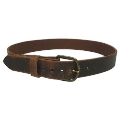 Handmade Belts Usa - jean belt water buffalo leather 9 ounce