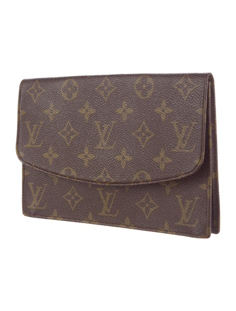 louis vuitton monogram flap clutch handbags lou