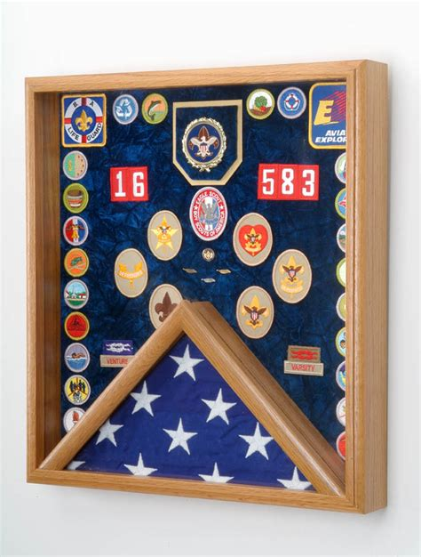 scout flag display scout display scout gift