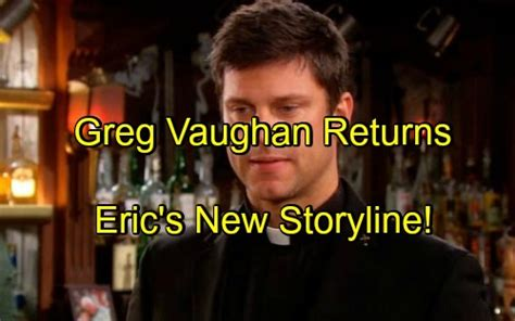 days of our lives greg vaughan eric and arianne zucker nicole days of our lives spoilers greg vaughan back eric