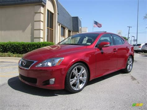 Matador Red Mica 2009 Lexus Is 250 Exterior Photo