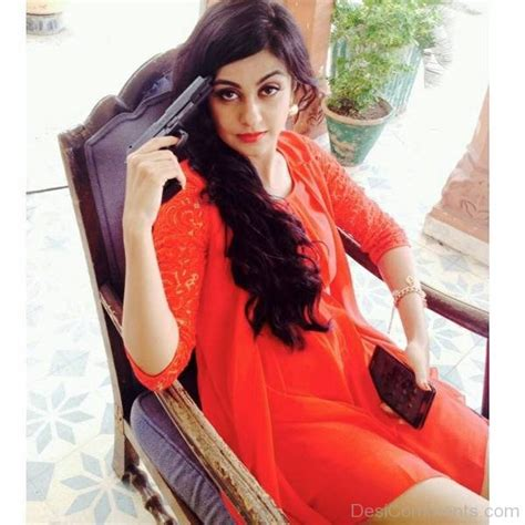 wallpaper punjabi girl with gun niharika kareer holding gun desicomments com
