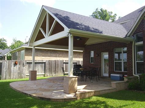 backyard porch designs for houses we construct and build patio roof extensions to blend in