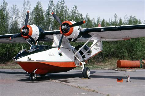 t 53 consolidated canso a pby 6a n9505c air tanker operated by alafco 2