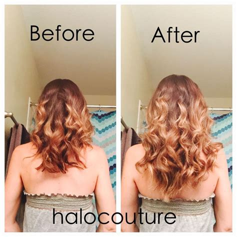 does halo couture work on short hair 17 best images about halocouture before after on