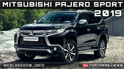 2019 All Mitsubishi Pajero by 2019 Mitsubishi Pajero Sport Review Rendered Price Specs