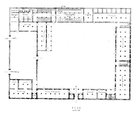 factory floor plan tile factory fd ground floor plan archnet