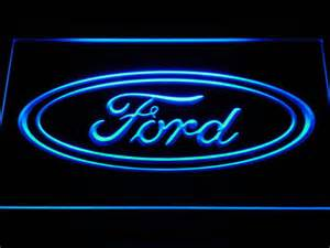 Ford Sign Quot Ford Quot Led Neon Light Sign Kleur Blauw Catawiki