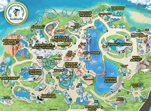 sea world florida map best 25 sea world ideas on