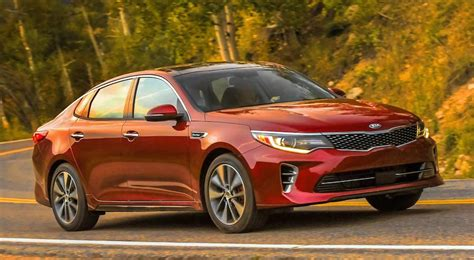 Price On A Kia Optima 2016 Kia Optima Priced From 21 840 In America