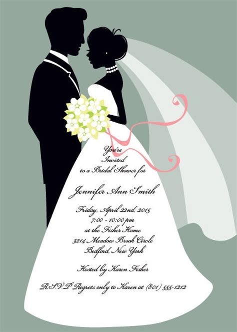 wedding shower for and groom 40 best images about bridal shower invitations on