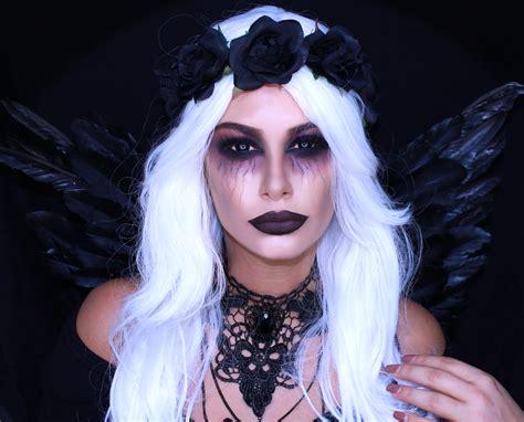 Skull Home Decorations by Fallen Dark Angel Makeup Halloween Tutorial Tashietinks