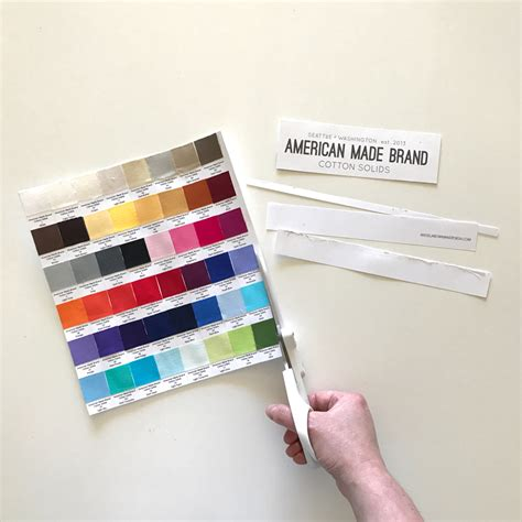 fabric swatch card template how to organize fabric swatches with magnets angela