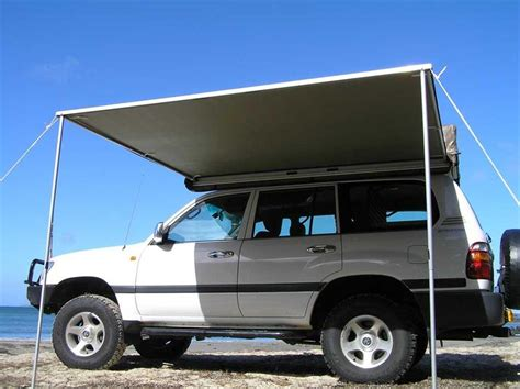 Awnings For 4x4 tigerz11 4x4 wing awning road side and rear awning in one 4wd ebay