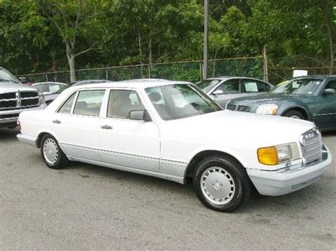 auto air conditioning service 1991 mercedes benz s class lane departure warning buy used 1991 mercedes benz 560sel base sedan 4 door 5 6l in riverhead new york united states