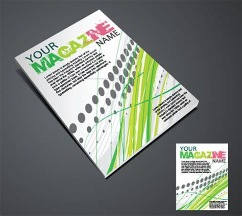 cover design elements magazine cover page design free vector download 6 265