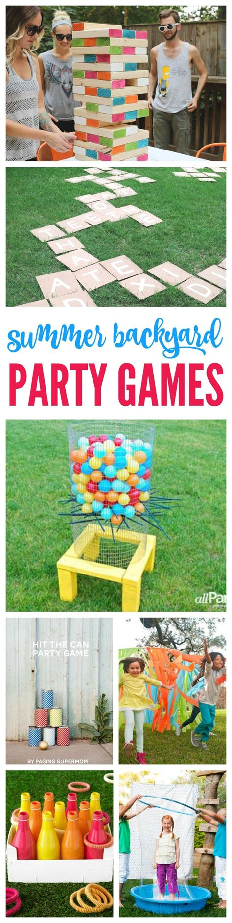 backyard party games best 25 summer party games ideas on pinterest outdoor