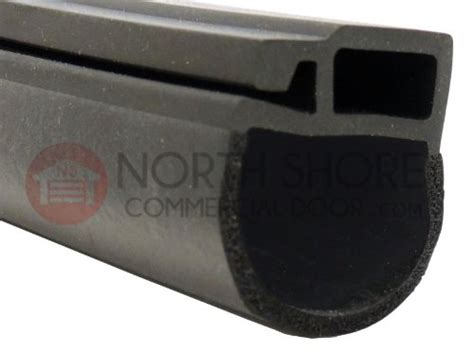 Types Of Garage Door Seals by Overhead Door Thermacore 174 Bulb Type Bottom Weather Seal