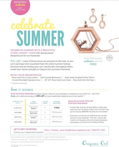Origami Owl Designer Discount - 15 best images about origami owl hostess exclusive on