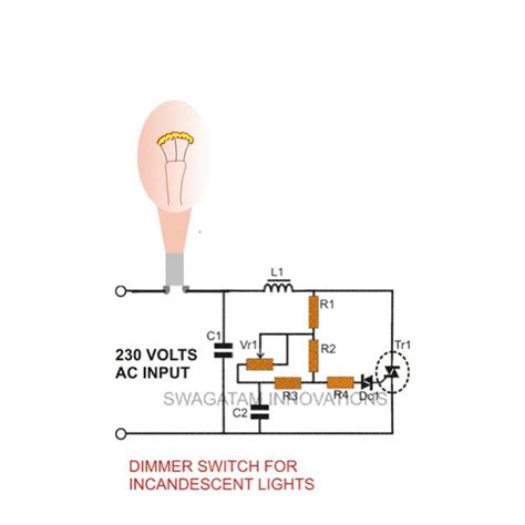 how to make a dimmer switch for incandescent lights