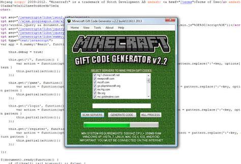 Mojang Gift Card Code Generator - 2011 minecraft gift code generator 2014 december